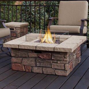 Sedona Concrete Propane Natural Gas Fire Pit Table
