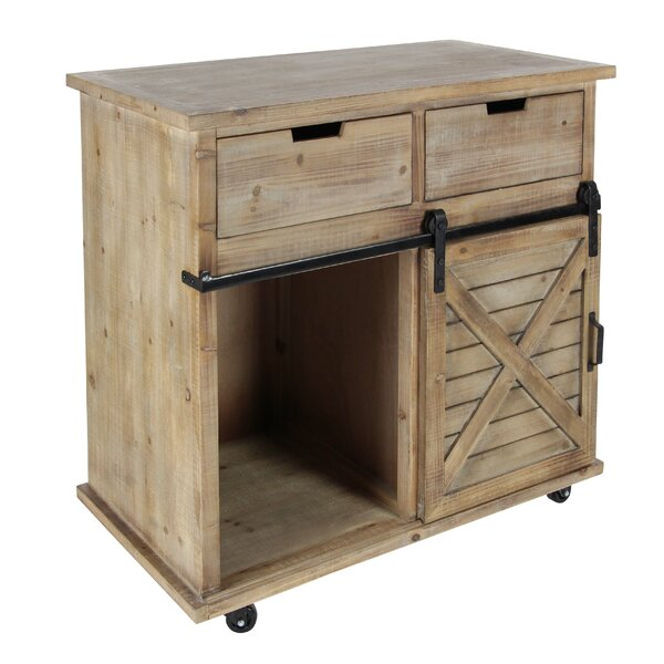 Coutu 2 Drawer Accent Cabinet