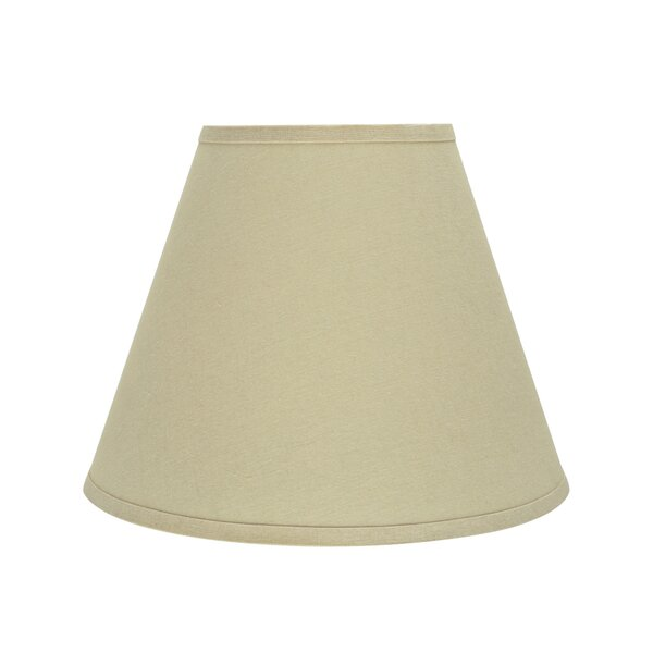 Transitional Hardback 14 Faux Brussel Fabric Empire Lamp Shade by Darby Home Co