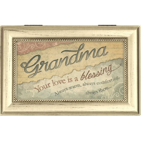 Carson Home Decorative Love Grandma Music Box Wayfair