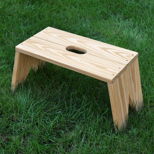 Brundage Outdoor Solid Wood Garden Bench by Rebrilliant