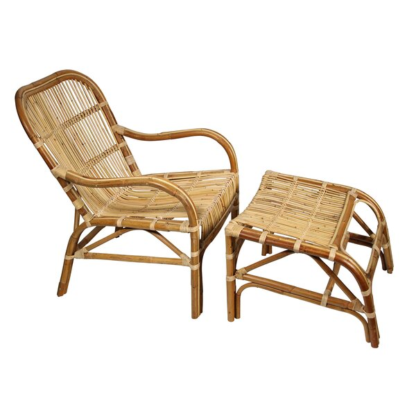 Lounge Chair and Ottoman by Ibolili