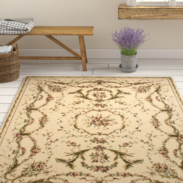 Sherley Ivory Area Rug by August Grove