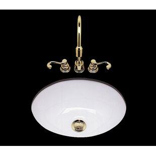 Find a Teri Ceramic Circular Undermount Bathroom Sink ByBates & Bates