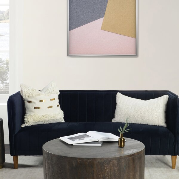 Liam Velvet Sofa by Modern Rustic Interiors