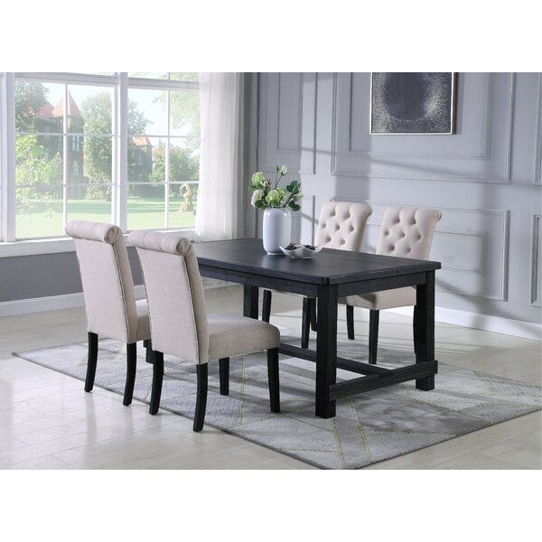 Evelin 5 Piece Dining Set
