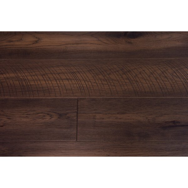 London 7-1/2 Engineered Hickory Hardwood Flooring in Clove by Branton Flooring Collection