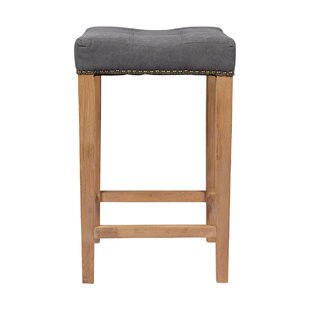 Bukovice 30 Traditional Gray Bar Stool