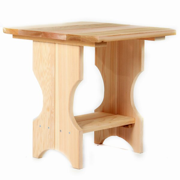 Adirondack Side Table by All Things Cedar