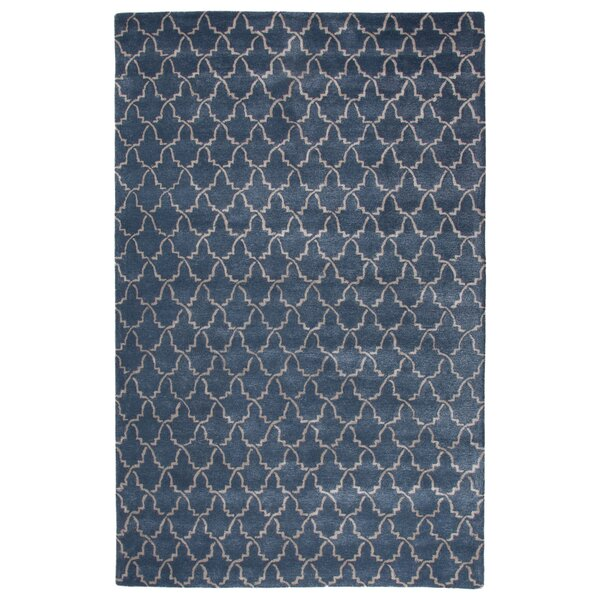 Bruce Hand-Tufted Blue Area Rug by Orren Ellis