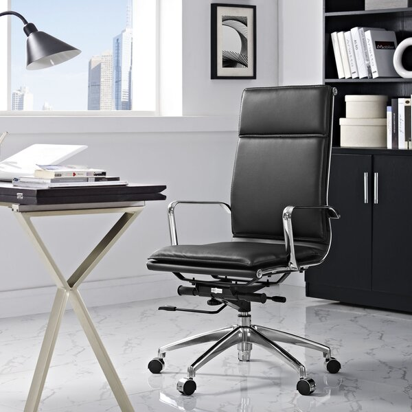 Lynch High-Back Desk Chair by Wade Logan
