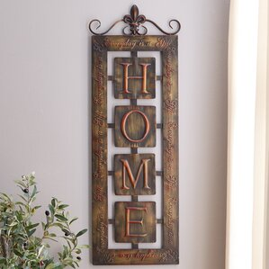 Home Wall Decor metal wall art - wall décor | wayfair