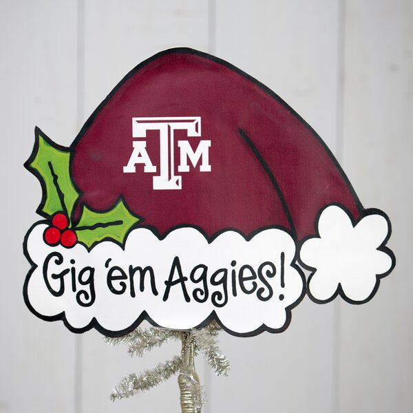 Texas A and M Tree Topper by Glory Haus