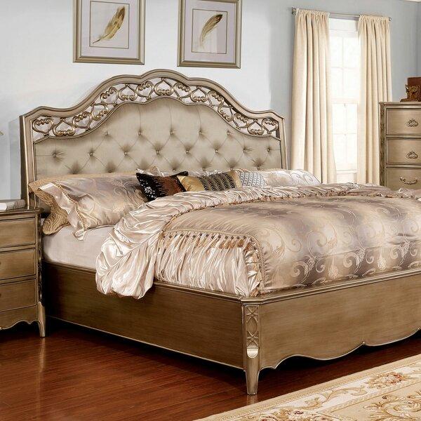Mireya Upholstered Standard Bed by Rosdorf Park