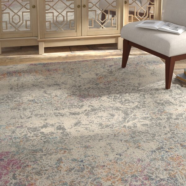 Palmore Gray Area Rug by Bungalow Rose