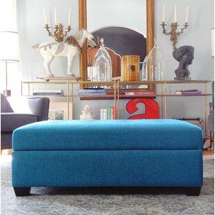 Compare prices Farnum Lucent Storage Ottoman ByEbern Designs