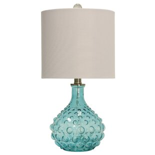 Read Reviews O'Shaughnessy Bubble Glass 20 Table Lamp By Highland Dunes