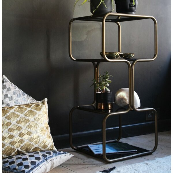 Curved Etagere Bookcase by Fashion N You by Horizon Interseas