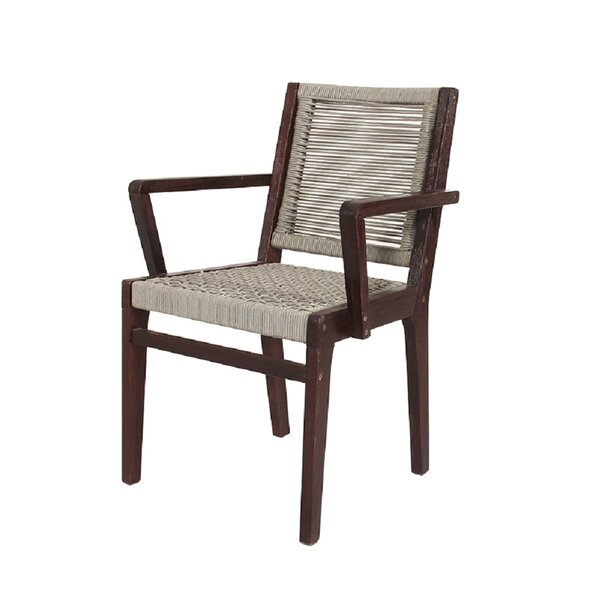 Tanner Patio Dining Chair (Set of 2) by Bayou Breeze