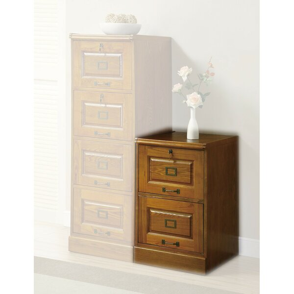 Del 2-Drawer Vertical Filing Cabinet by Darby Home Co