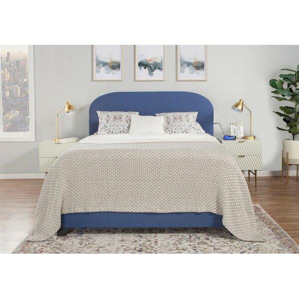 Ingrassellino Upholstered Standard Bed by Brayden Studio