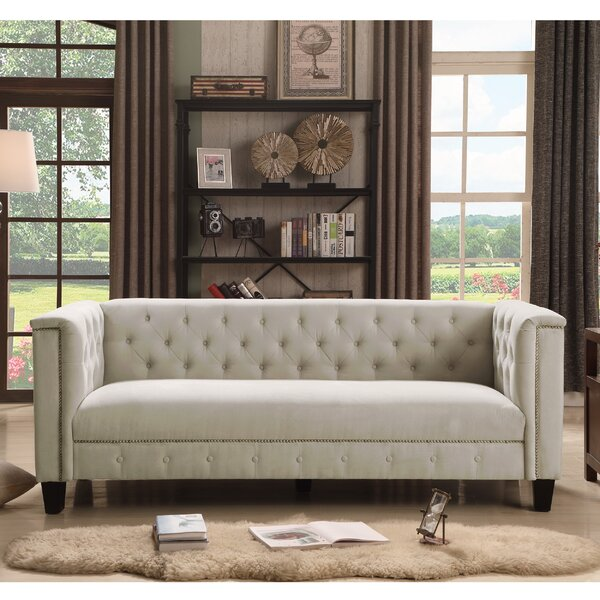 Broughtonville Chesterfield Sofa by Willa Arlo Int