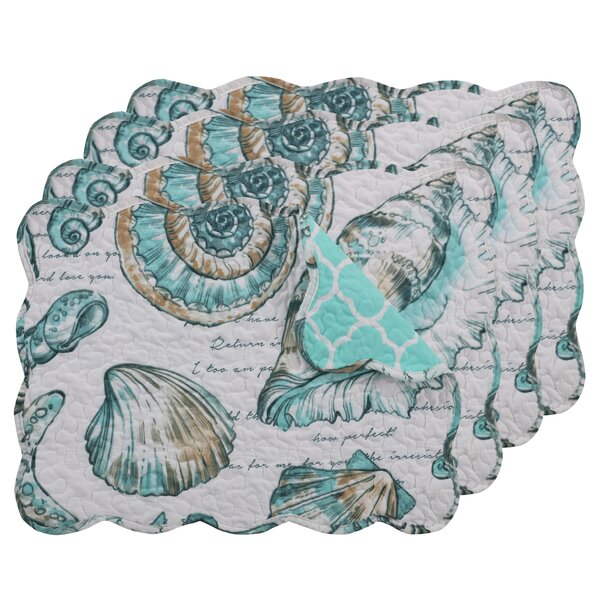 Cassette Placemat (Set of 4) by Highland Dunes