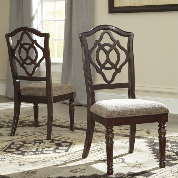 Cedar Creek Upholstered Dining Chair (Set of 2) by Three Posts