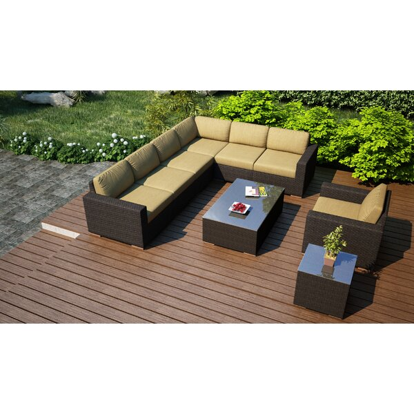 Arden 9 Piece Sectional Set with Cushions by Harmonia Living