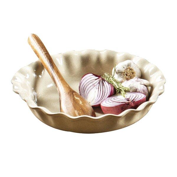 Biju Pie Dish with Speckles by Euro Ceramica