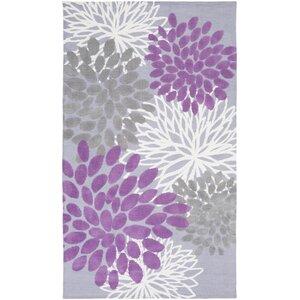 Odele Lavender/Gray Area Rug