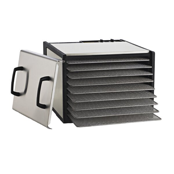 9 Tray Dehydrator with Steel Trays by Excalibur