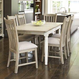 Essgruppe Lily mit 6 Stühlen von Brambly Cottage