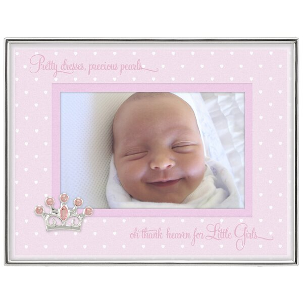 Baby Girl Shadowbox Picture Frame by Malden