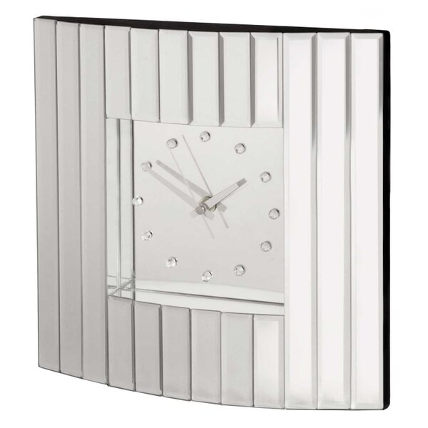 Glass Clock by Selections by Chaumont