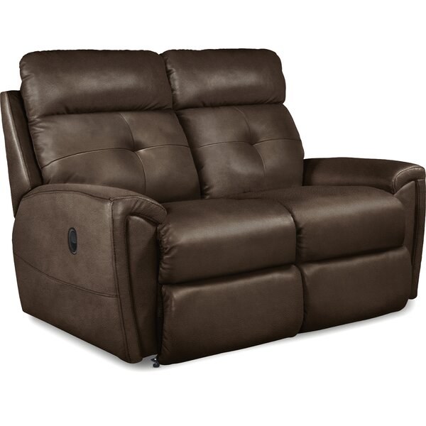 Douglas Full Reclining 62 Inches Flared Arms Loveseat By La-Z-Boy