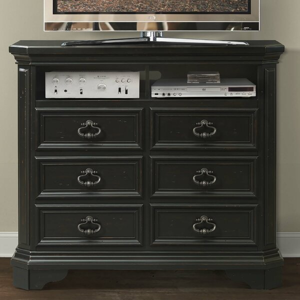 Eloisee 6 Drawer Media Chest by Darby Home Co