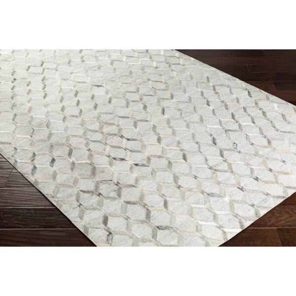 Rexburg Hand-Crafted Brown/Gray Area Rug by Trent Austin Design