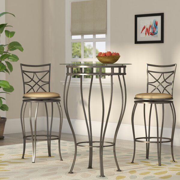Northridge 3 Piece Pub Table Set by Alcott Hill