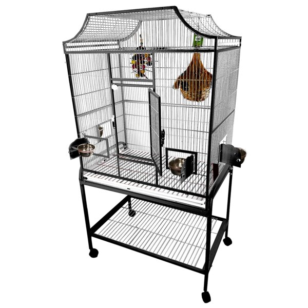 Elegant Flight Cage with Food Access Door by A&E C