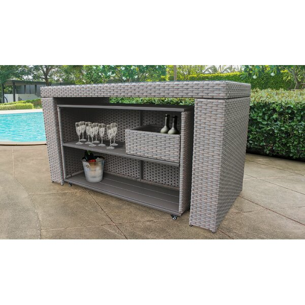 Brennon Bar Table By Sol 72 Outdoor