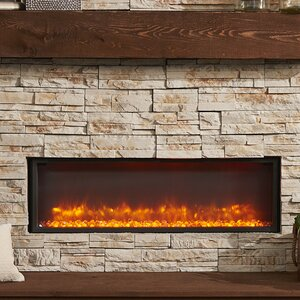 Gallery Linear Built in Wall Mount Electric Fireplace