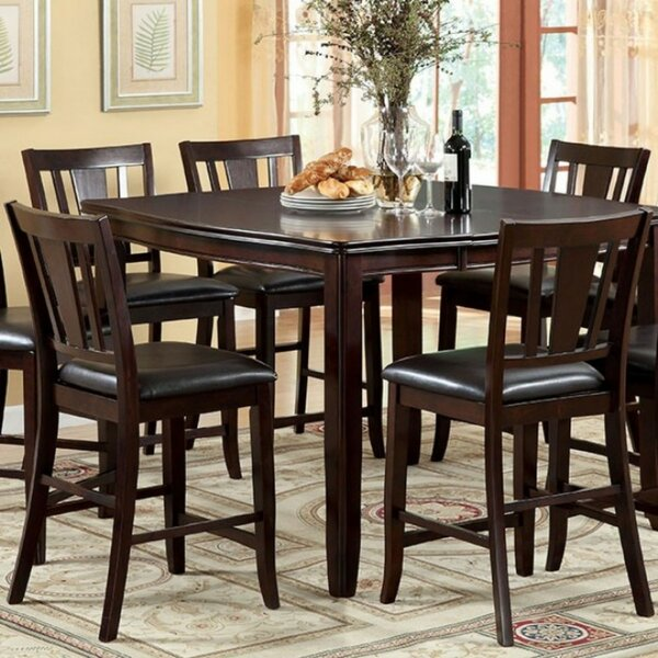 Mora Square Counter Height 7 Piece Pub Table Set by Winston Porter