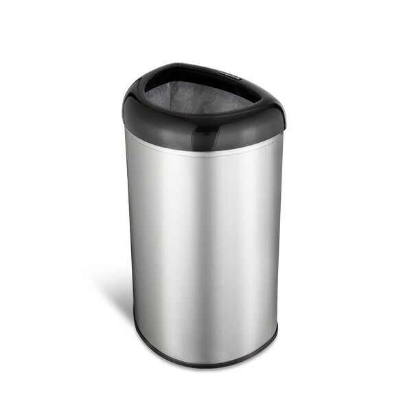 13.2 Gallon Open Top Trash Can by Nine Stars