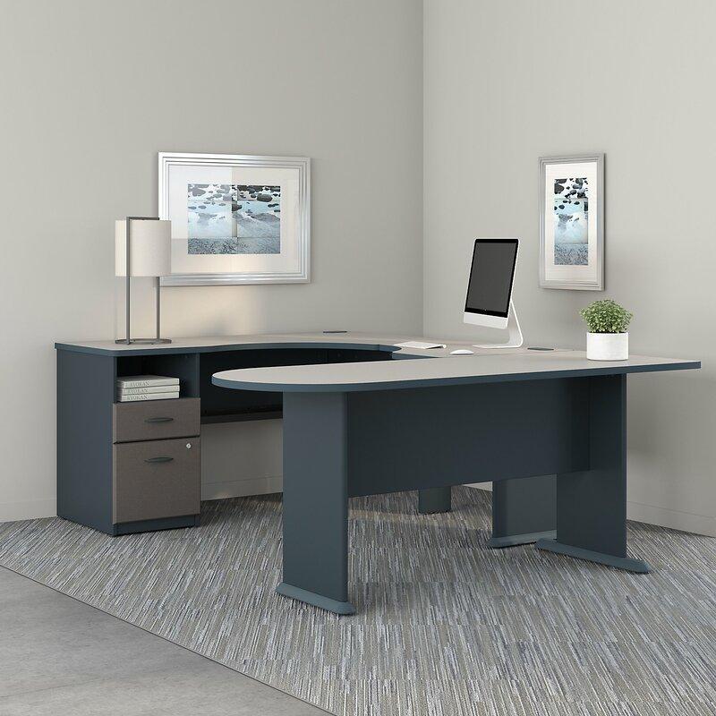 series a u shaped corner desk