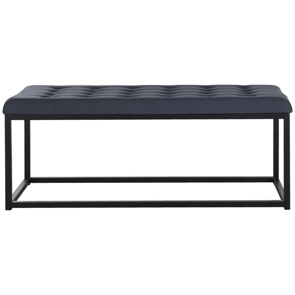 Lembus Upholstered Bench by Mercury Row