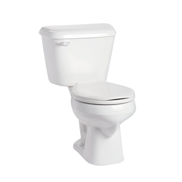 Alto 1.28 GPF Round Two-Piece Toilet by Mansfield Plumbing Products