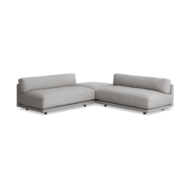 Sunday L Sectional Sofa - Small by Blu Dot