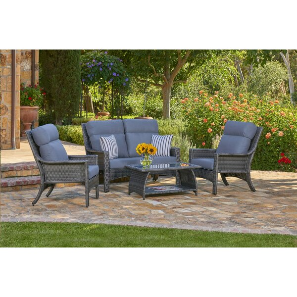 Sycamore 4 Piece Sofa Seating Group with Cushions by August Grove