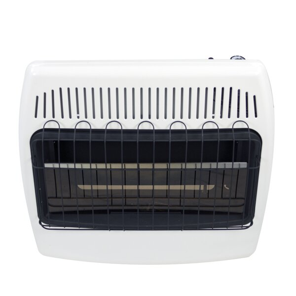 30,000 BTU Wall Mounted Propane Manual Vent-Free Heater by Dyna-Glo